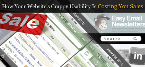 How Your Website's Crappy Usability Is Costing You Sales | Expertiential Design | Scoop.it
