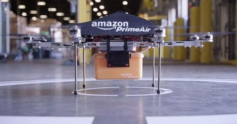 Amazon Unveils Flying Delivery Drones on '60 Minutes' | Innovative Tools | Scoop.it