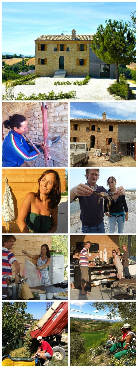 "N.22 - Successful ""Case History"" of foreigners buying a property in Le Marche - Anne and Cees 