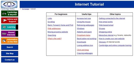 Cambridge Online - Internet Tutorial | terminology and translation | Scoop.it