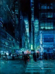 The Wet Look: Oil Paintings by Jeremy Mann | New Creations | Scoop.it