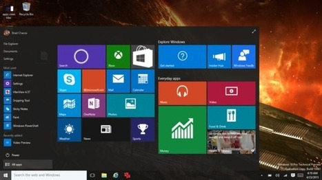 Prise en main de la build 10061 de Windows 10 - LeMondeInformatique | Seniors | Scoop.it