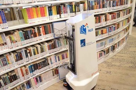 High Tech Shelf Help: Singapore's Library Robot | innovative libraries | Scoop.it