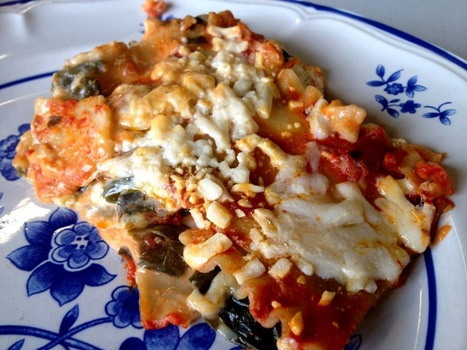 Vegan Crunk: The Cheesiest Gluten-Free Vegan Lasagna! | My Vegan recipes | Scoop.it