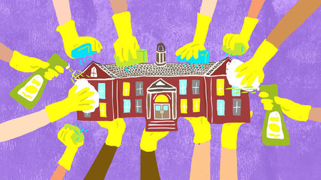 Without Janitors, Students Are In Charge Of Keeping School Shipshape | Teach-ologies | Scoop.it