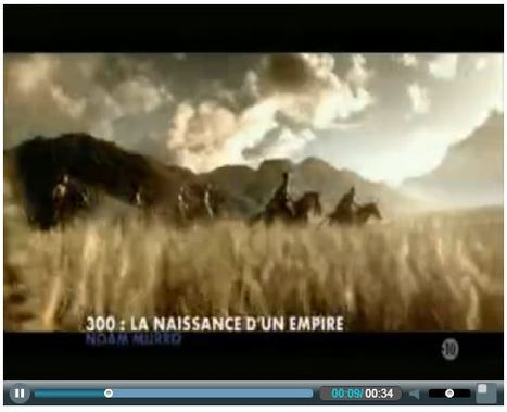 Clique - Canal Plus | 300 : Rise Of An Empire - TV & Web coverage | Scoop.it