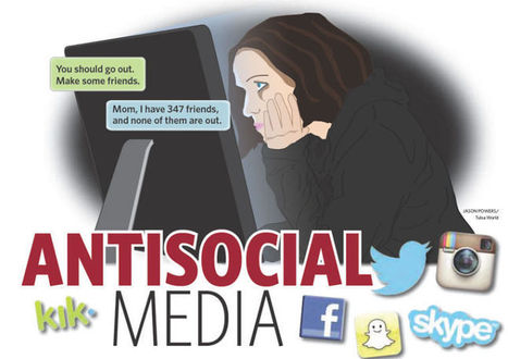 Too much social media bad for kids, experts say | Random Reading | Scoop.it