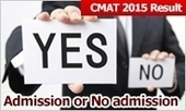 CMAT 2015 Result: Admission or No admission; choose the better option | MBA Universe | Scoop.it