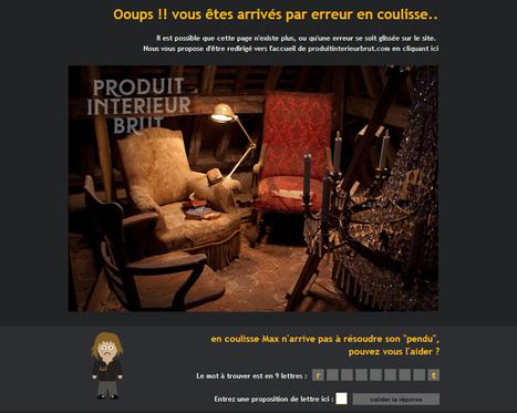 Erreur 404 : Faites de vos liens cassés un atout marketing ! | Entrepreneurs du Web | Scoop.it