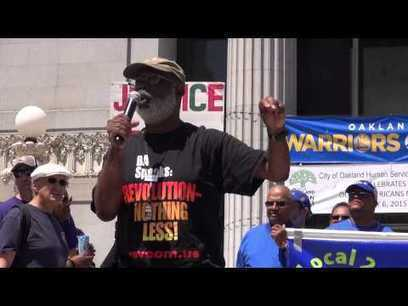 Carl Dix at Oakland May Day ILWU anti-police-terror Rally after Longshoremen shutdown the port | Community Village Daily | Scoop.it