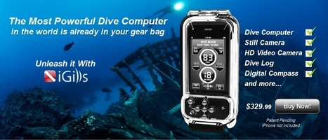 iPhone Dive Computer   Scuba Diving iPhone Case, Dive Log   ScubaObsessed   Scoop.it