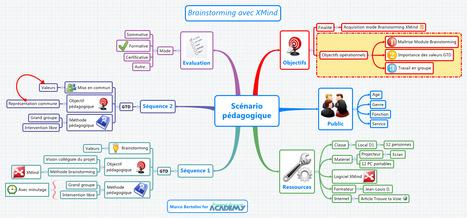 Mindmapping pour Formateurs : un scénario pédagogique avec XMind | les docs | Scoop.it