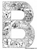 Animal Alphabet Letters to Print | Supporting Children's Literacy | Scoop.it