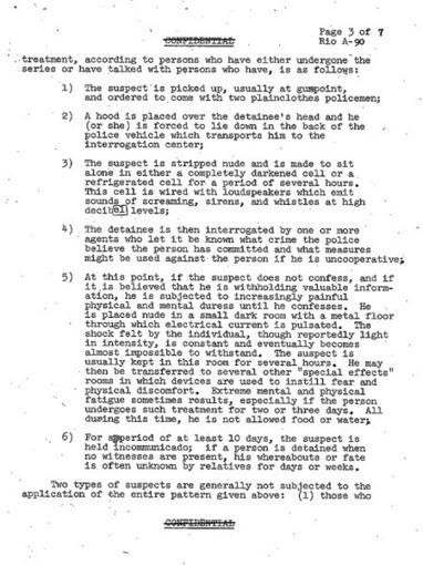 Clase magistral de torturas. Desclasifican documentos de EE.UU ... - piensaChile | Archivos Exagono | Scoop.it