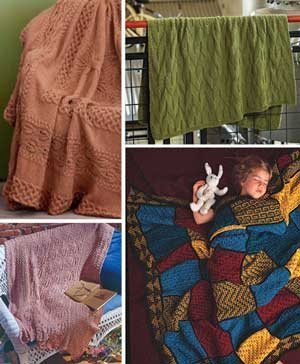 Cozy Knitted Blanket Patterns: 4 Free Afghan Knitting Patterns ... | Free knitting patterns | Scoop.it