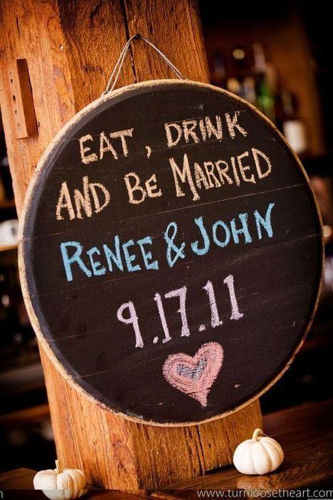 Chalk It Up! | Eco-Beautiful Weddings – The E-Magazine & Blog for ... | Naturally Beautiful Weddings | Scoop.it