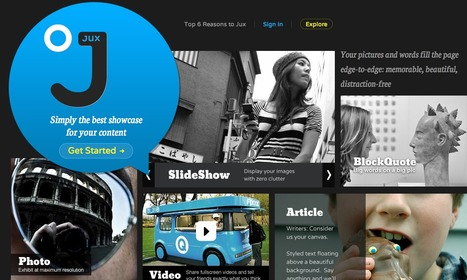 Jux. Simply the best showcase for your content . | KgTechnology | Scoop.it