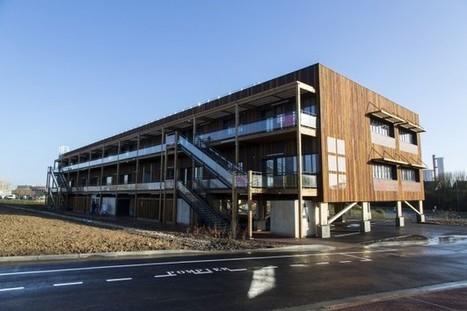Le premier bâtiment biosourcé, démontable et réversible à souhait - Moniteur | Chanvre | Scoop.it
