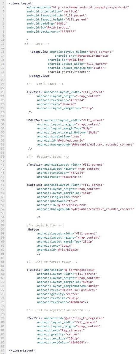 Login en Android usando PHP y MySQL   Androideity   Material para la exposición de INF-272   Scoop.it