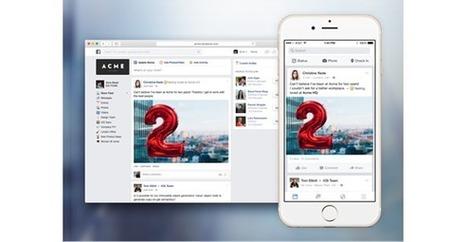 Lancement de la version test de Facebook au travail   Social Media, Communication, PR,...   Scoop.it