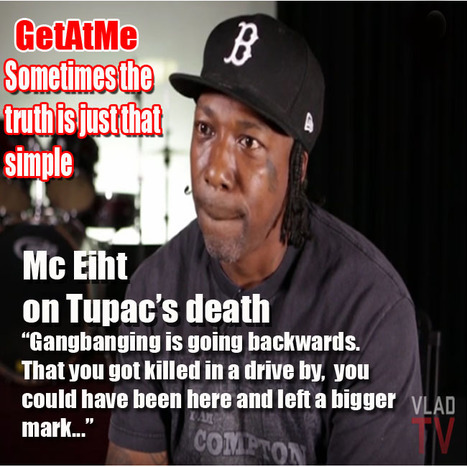 "GetAtMe MC Eiht vladtv interview about 2Pacs death ""You could've been here and left a bigger mark..."" 