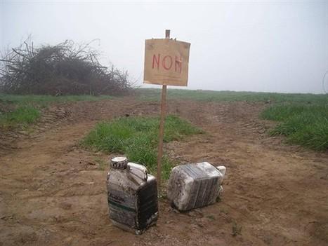 Des bidons toxiques retrouvés fumants dans un feu de branchages - Bannalec | ouest-france.fr | Toxique, soyons vigilant ! | Scoop.it