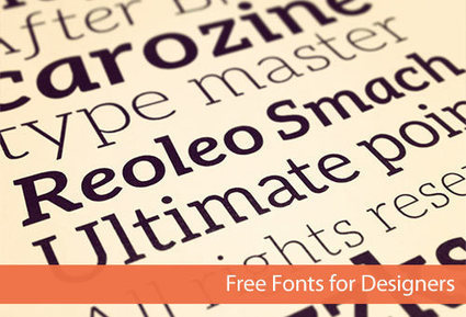 44 Fresh Excellent-Quality Free Fonts for Designers | Informatique | Scoop.it