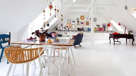 Sous les toits de Copenhague - Frenchy Fancy | Décoration d'intérieurs | Scoop.it