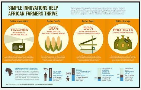 Infographics - Bill & Melinda Gates Foundation | Theme 4: People & Development | Scoop.it