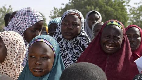 Nigeria: grande manifestation en solidarité avec les lycéennes enlevées - France - RFI | UNHCR TOGO - News Desk | Scoop.it