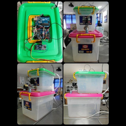 Insta-Arduino | Automatic Water Tank with Fuzzy Logic #Automatic... | Raspberry Pi | Scoop.it