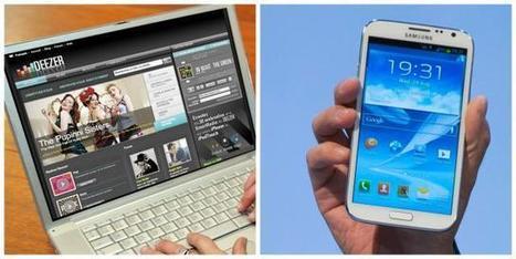 Deezer sur le point de signer un accord avec Samsung   Ouest France Entreprises   Des souris dans le nuage   Scoop.it
