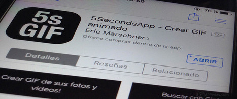 Crea tus propios GIFs animados con 5SecondsApp | Educacion, ecologia y TIC | Scoop.it