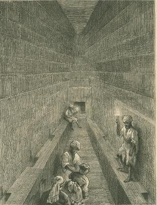 """""""Ces fastueux monuments de la vanité humaine"""" (Céleste-Étienne David - XIXe s. - à propos des pyramides)   Égypt-actus   Scoop.it"""
