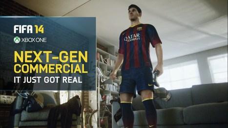 FIFA 14 TV Commercial - Next-Gen Lionel Messi | Soccer Videogames | Scoop.it