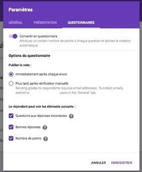Google Formulaire - Un gros ajout avant les vacances ! « Alexandre Gagné | E-pedagogie, apprentissages en numérique | Scoop.it