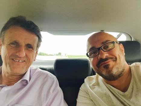 @CyrilCibert Avec @JFMacaire direction #Loudun   Chatellerault, secouez-moi, secouez-moi!   Scoop.it