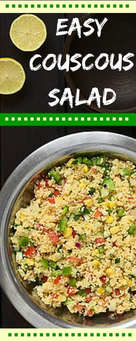 Couscous Salad with Parsley and Lime | Best Easy Recipes | Scoop.it