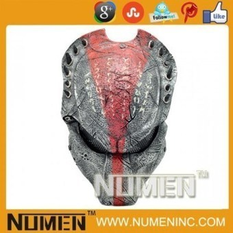 """Full Face Metal Mesh """"Predator Wolf 2.5 """" Paintball Mask 