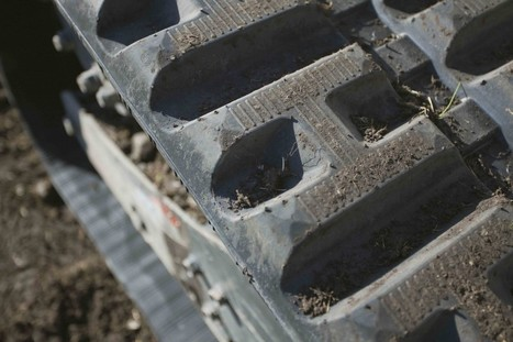 Maintenance Corner: Tracking undercarriage wear on compact excavators is a must | H&R Stream | Scoop.it