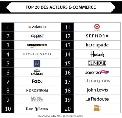 Classement 2014 des meilleurs acteurs du commerce en ligne - RichCommerce.fr | e-commerce  - Success Store | Scoop.it