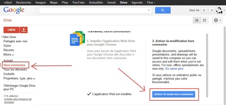 Comment utiliser google Drive sans connexion sur le bureau | Time to Learn | Scoop.it