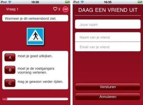 Leer autorijden met je iPhone | ZDNet.be | Politieonderwijs - Police Academy | Scoop.it