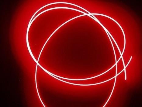 Pantallas LED basadas en grafeno: tecnología flexible de verdad