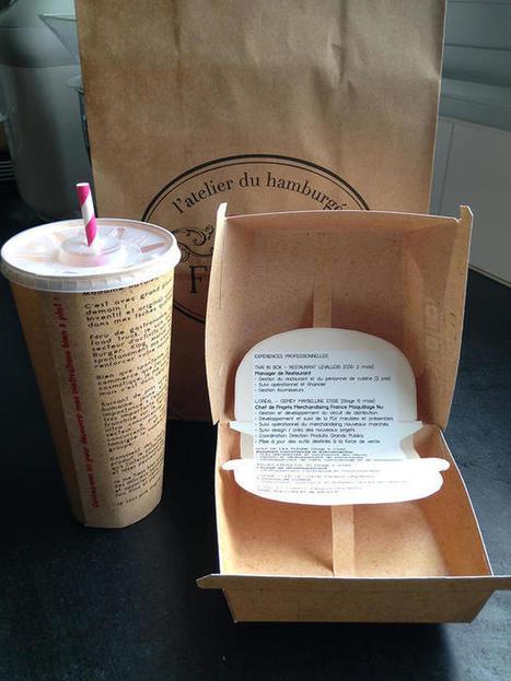 Un CV sous forme de boîte de burger pour Big Fernand | les candidatures originales | Scoop.it
