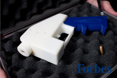 UH OH! The World's First Entirely 3D-Printed Gun Has Arrived | Robotics Frontiers | Scoop.it