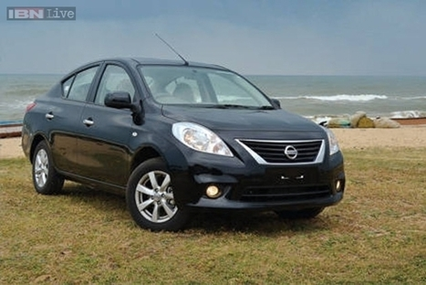 2014 Nissan Sunny facelift launched in Thailand, coming to Auto Expo 2014 | checkcarin | Scoop.it
