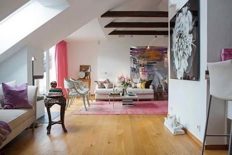 Romantic Attic House in Stockholm Sweden | Interior design | Scoop.it