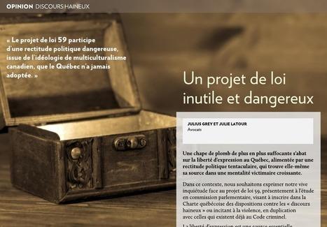 Un projet de loi inutile et dangereux | Archivance - Miscellanées | Scoop.it