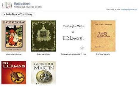MagicScroll eBook Reader, leer #ebooks en formato ePub en el navegador #Chrome por @softapps | Pedalogica: educación y TIC | Scoop.it